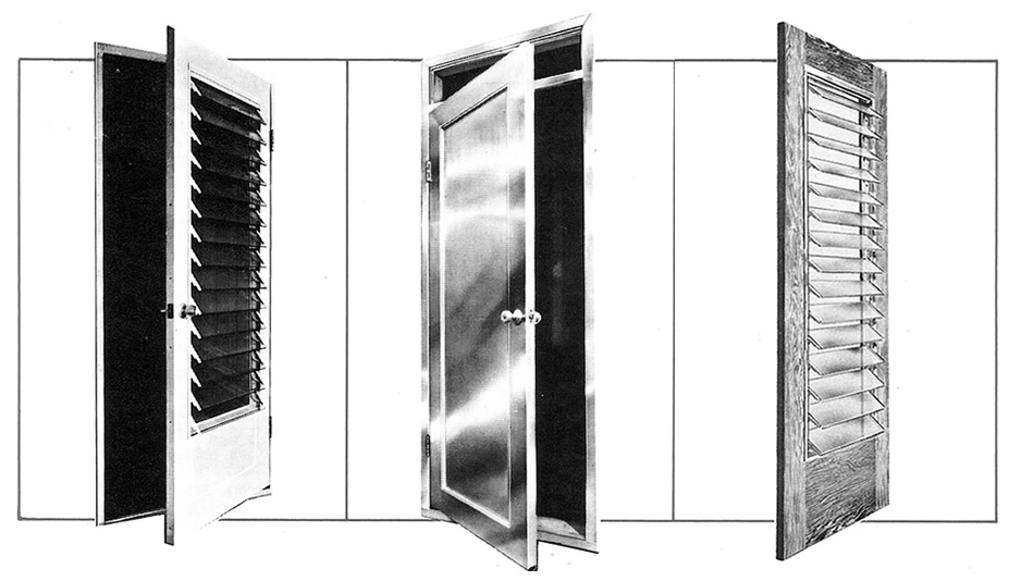 About The UniJal Louvered Door Line